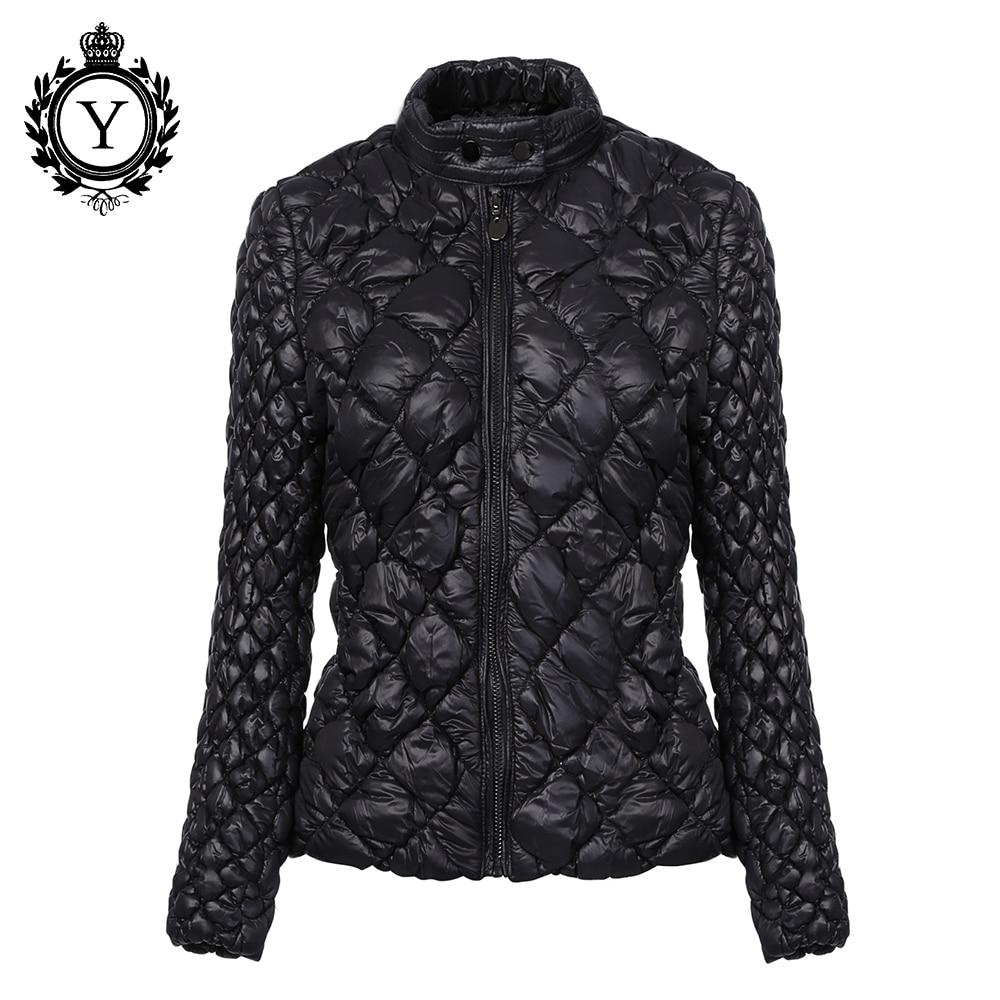 COUTUDI 2017 Hot Ultralight Solid Coats Parka Women Winter Jacket Unique Style Women's Jackets Short Warm Waterproof Thin Coat