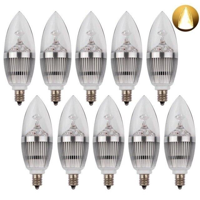 Aliexpress.com : Buy LED Candelabra Bulb, LED Candle Bulbs E12 3W ...