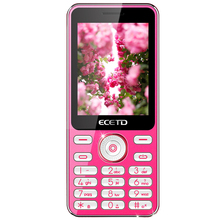 Cheap price ECETD E168 rose color detachable battery one camera suit to children lady and elder with english language