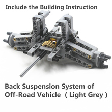 MOC Technic Parts 78pcs Rear Suspension System  of Off Road Vehiclecompatible with lego for kids boys toy
