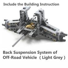 Moc テクニック部品 78 個のリアサスペンションシステムのためのレゴとオフロード vehiclecompatible kids boys toy