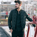 SIMWOOD 2016 New Autumn Winter Coats Men Fashion military style bomber  Jacket  Camouflage  Parkas Casual Brand Clothing MF9602