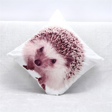 Vintage 45 x 45 cm cojín decorativo de la cubierta microsoft impresión 3d pascua erizo sofá Throw Pillow cubierta caso cojín del sofá cubierta