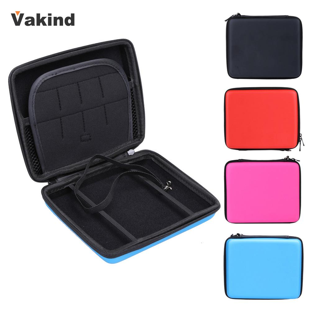 New Portable Hard EVA Storage Zip Case Carry Game Cards Cable Earphone Pouch Bag Protective Holder For Nintendo 2DS High Quality