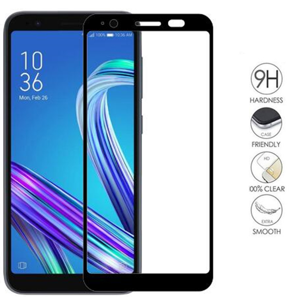 For <font><b>Asus</b></font> ZenFone Live L1 ZA550KL Tempered Glass Full Cover Screen Protector Protective Film For <font><b>ASUS</b></font> ZA550 ZA <font><b>550</b></font> 550KL <font><b>KL</b></font> X00RD image