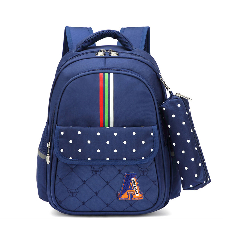SUN EIGHT Grader 1-2 Kids Backpack School Bags For Girls School Bags Children Travel Backpack Crossbow Pink Kids Bag