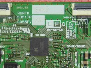 Image 2 - Kostenloser versand Original Neue t con 5351TP ZB 0055FV RUNTK5351TP ZZ RUNTK5351TP ZA Logic board gute arbeits