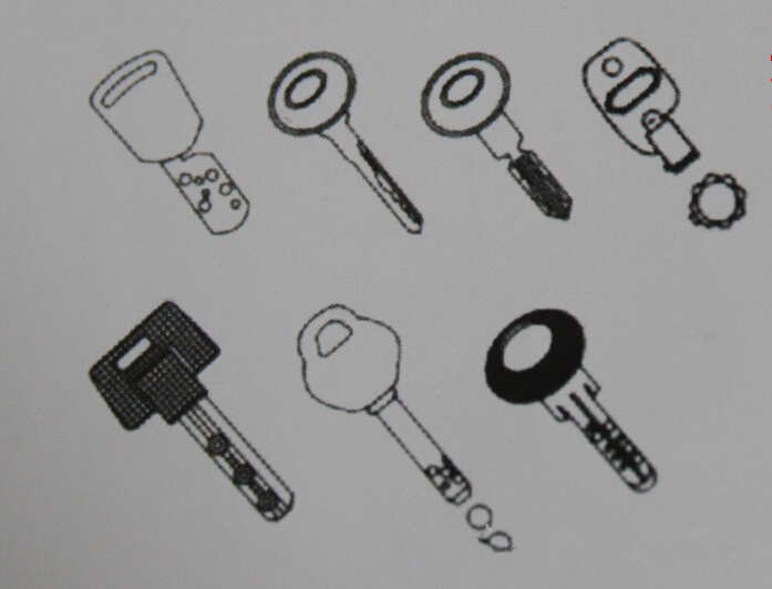 Garage Door Hardware Parts Car Key Copy Machine Cutting Auto Keys