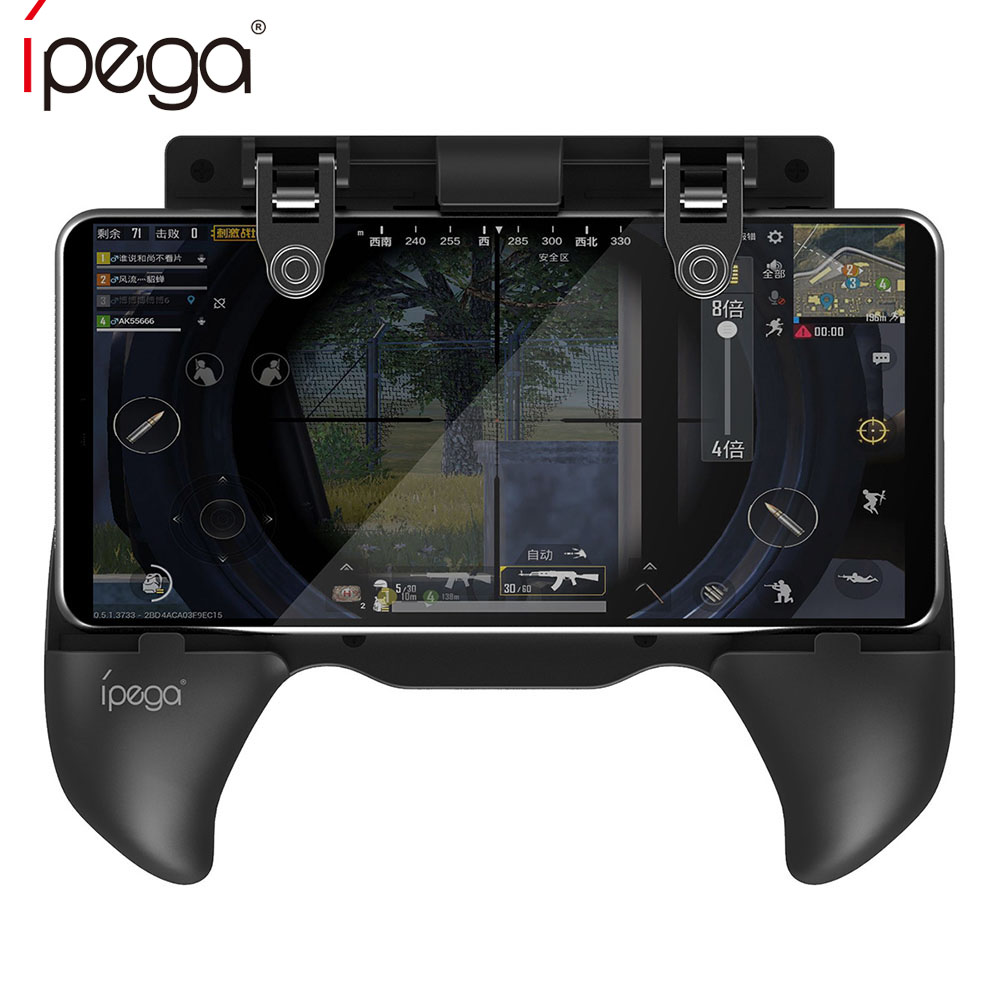 iPega PG-9117 9117 Gamepad Design for FPS Pubg Mobile Phone Game Grip L1RL Trigger Button Fire Key for iPhone Android IOS