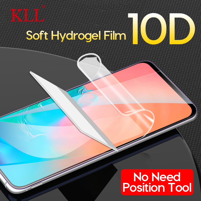 10D Full Cover Hydrogel Film For Samsung S10e S10 S9 S8 Plus S7 Edge Screen Protector For Galaxy Note 9 8 J8 J6 2018 Soft Film