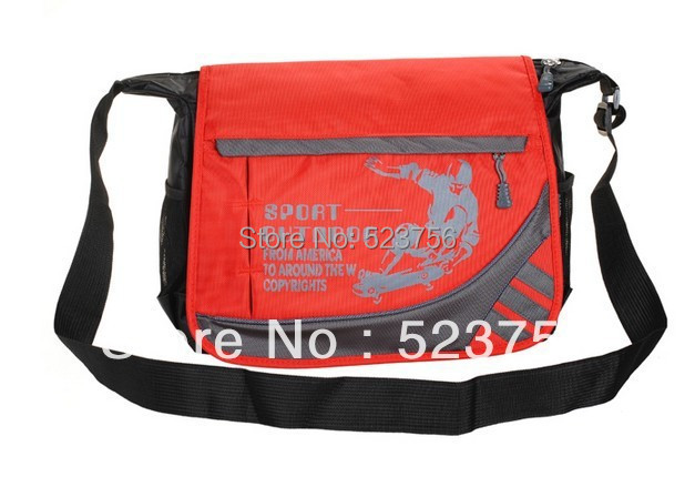 2017 New Fashion Boys Nylon Primary Middle School Bags One Shoulder Cross Body Bag Casual Book