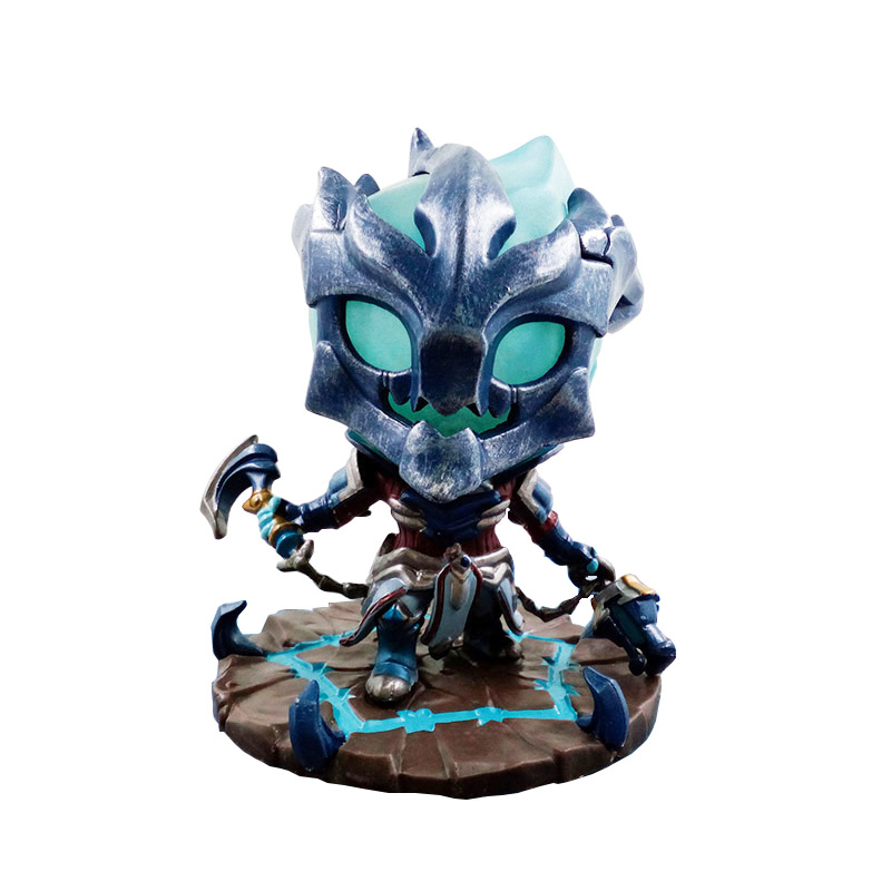10cm league legends championship thresh the Chain Warden Action Figure Toy Model Western ...