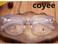 Handmade Acetate Oversize Round Eyeglasses Full Rim Glasses Frames Women Men Eyewear Optic Rx Able Transparent