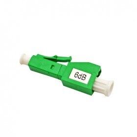 FirstFiber LC/APC Male LC/APC Female Mechanical Fixed Value Attenuator 6dB