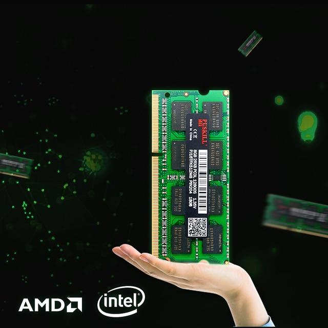 Fábrica de atacado DDR3 4 GB GB 2 8 sodimm 1333 GB 1600 MHZ para Laptop memoria ram 5