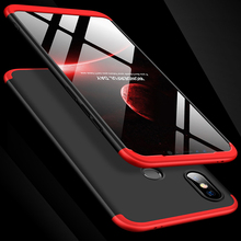 360 Degree Full Protection Case For Xiaomi Mi 8 SE Mi8SE Cover shockproof case glass film for