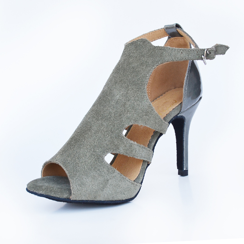 Women Ballroom Latin Dance Shoes High heels 8.5/7.5/6cm Social Party Salsa Shoes Female Samba Tango Dance Shoes Soft Sole T15