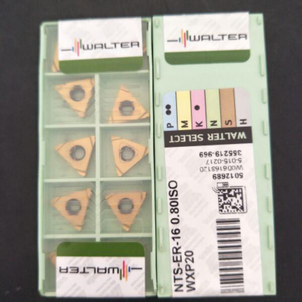 Insertos de carburo de 16ER NTS ER 16 0,5/0,75/0,8/1,0/1,25/1,5/1,75 OISO WXP20, herramientas de torneado de rosca