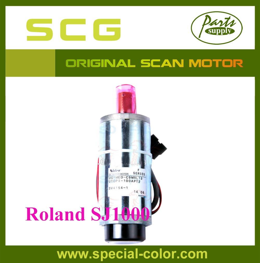 Roland-SJ1000 Scan Motor Original SJ1000 Japan Servo Motor oem roland vp540 scan motor for rs640 parts fedex free shipping
