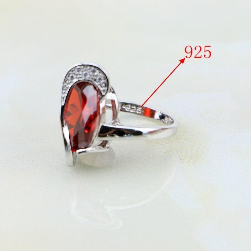 Trendiga 925 Sterling Silver Smycken 11 Flerfärgade Cubic Zirconia - Märkessmycken - Foto 6