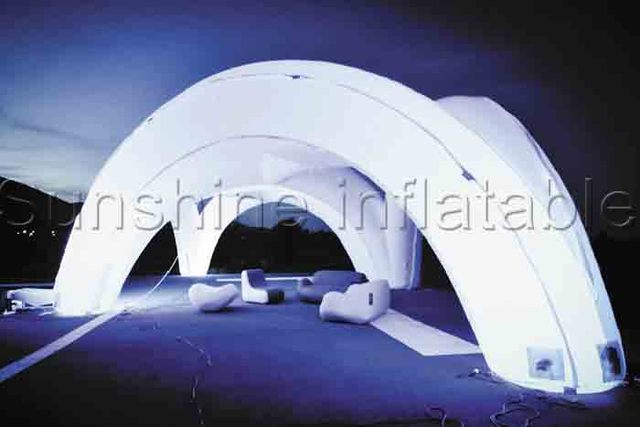 Unique open air giant inflatable structure inflatable led tent inflatable shelter for events party & Unique open air giant inflatable structure inflatable led tent ...