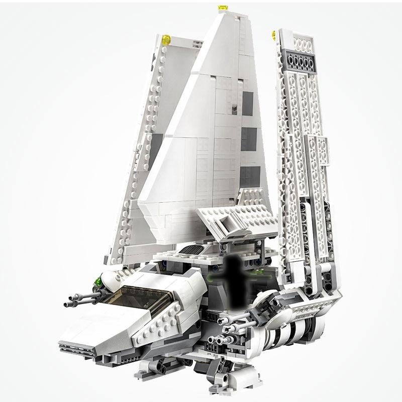 Star Wars Return of the Jedi Imperial Shuttle Tydirium Star Wars Fold Wing Starship Movie Set Starwars Blocks-in Blocks from Toys & Hobbies    1