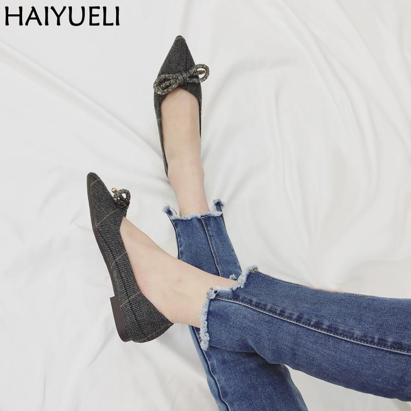 Black Shoes Women Flats Simple Style Female Casual Loafers Fashion Girls Shoes  Ladies Pointed Toe Bow Flat Shoes форма профессиональная для изготовления мыла мк восток выдумщики 688758 1