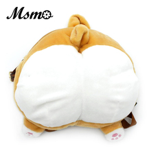 Msmo Чиби корги Butt рюкзак милый маленький собака плюшевые Back Pack женщин Школьные ранцы творческий подарок для детей Дети девочек