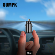 Fast Charge USB Car Charger for iPhone Samsung Xiaomi Tablet Charger 5V3.1A Dual Mini Mobile Phone Charger Adapter in Car