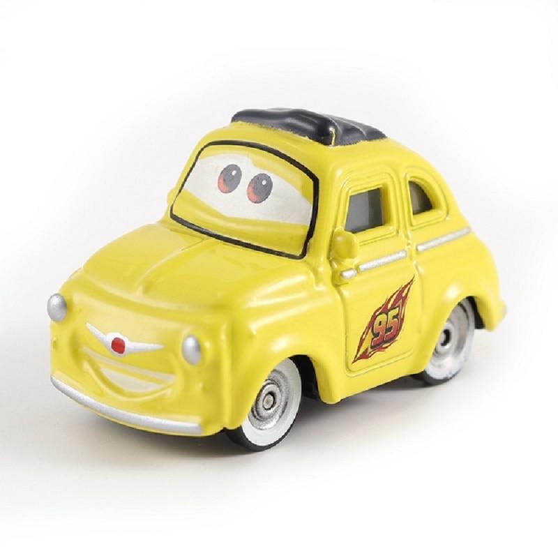 Disney Pixar машина 3 Молния Маккуин гоночный семейный 39 Джексон шторм Рамирез 1:55 литой металлический сплав детская Игрушечная машина - Цвет: 1