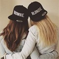 BLONDIE BROWNIE Letter Embroidery Snapback Hats Flat Bill Men Women Acrylic Gifts Baseball Cap For Him Her Trucker Hip Hop Hats
