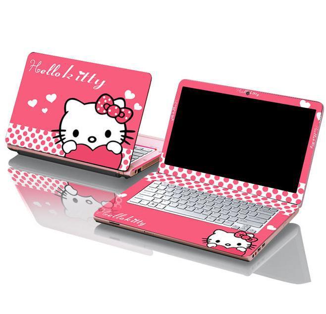 Hello Kitty Laptop Sticker Hello Kitty Computer Skin In Laptop