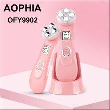 AOPHIA светодиодный фотон омоложение кожи RF EMS радио мезотерапия Электропорация радио частота лица красота морщин Отбеливание