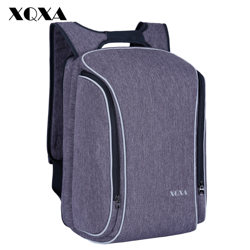 XQXA Large Smart Anti Theft Business Laptop Backpacks For Men Women College Computer Backpack Fits Most 15.6 Inch Computer