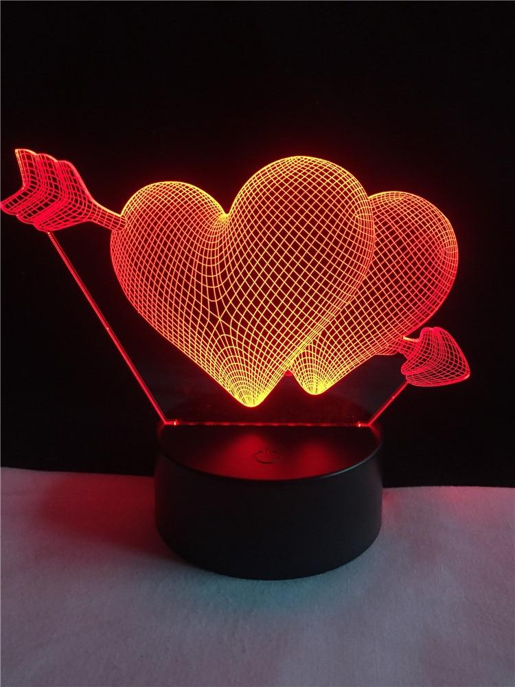 Luzes da Noite casamento amantes & casal & Function 1 : Led Bed Lamp/table Desk Lighting/bar Light