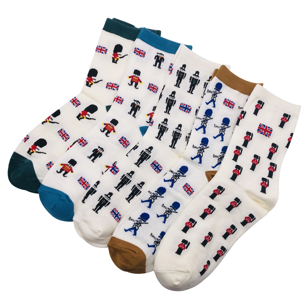 Fashion Colorful Men Happy Socks Male Casual Cotton Funny Socks For Man Brand Harajuku Sox