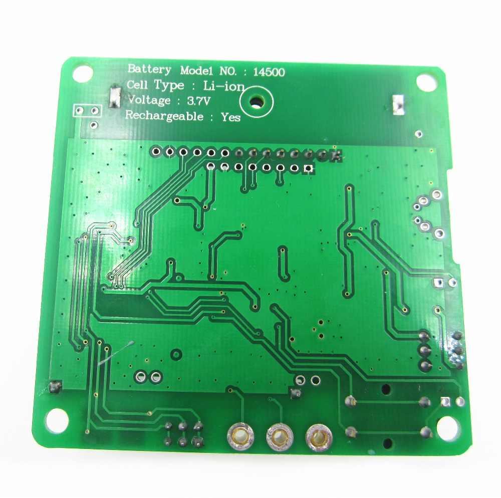 1 set Baru 3.7 V versi induktor-kapasitor ESR meter DIY MG328 multifungsi transistor tester