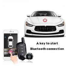 купить Remote Starters 2way Smartphone Keyless Entry System Car Starline Engine System Remote Central Locking Car Alarm PKE Start Stop по цене 4471.24 рублей