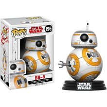 Funko pop Official Star Wars: The Last Jedi – BB-8 #196 Vinyl Action Figure Collectible Model Toy with Original Box