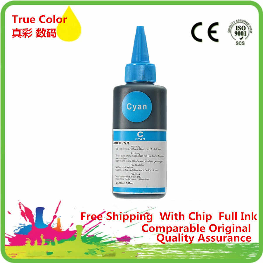 Color de la tinta de tinte especializados para recarga de tinta de botella a granel Universal tinta cartucho de tinta recargable Ciss impresora de inyección de tinta