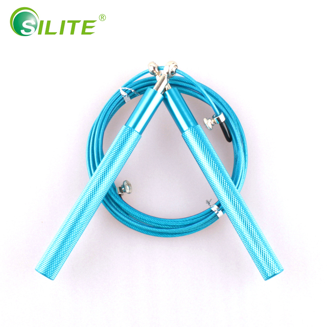 SILITE Jumping Rope Training Crossfit Bearing Skipping Rope Speed Rope Workout Gym Equipments For MMA Boxing Skipping Rope