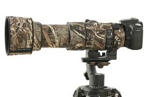 Image 2 - ROLANPRO imperméable lentille Camouflage manteau couverture de pluie pour Sigma 60 600mm f4.5 6.3 DG OS HSM Sport lentille étui de protection pistolets tissu