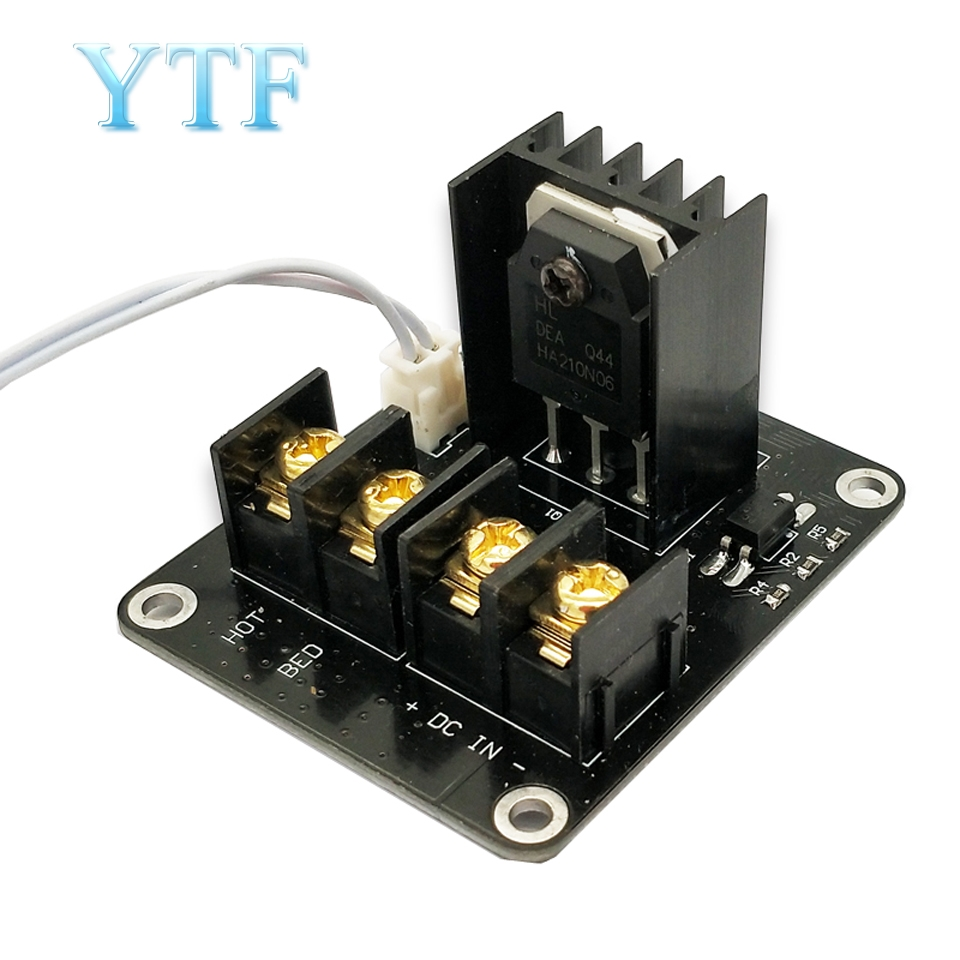 New 3D Printer Hot Bed Power Expansion Board / Heatbed Power Module / MOS Tube High Current Load Module