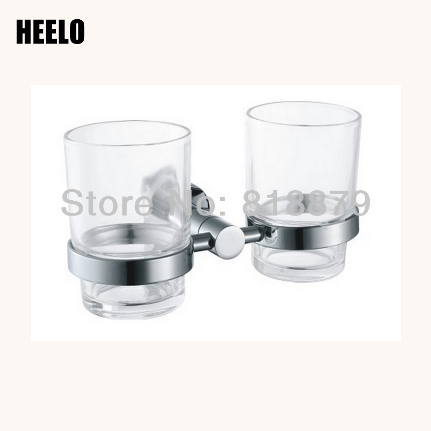Double cup tumbler holder circle lovers cup holder bathroom hardware accessories batroom golden champagne porcelain double cup holder bathroom double cup rack holder hardware bath sets bathroom accessories