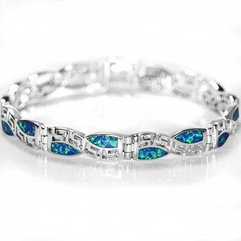 SZ0013 2016 Новый дизайн сезона китайский узор синий опал камень Браслеты для Для женщин Браслеты и браслеты