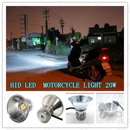 Good Quality 20w Hid Xenon Light Led Motorcycle Headlamp
