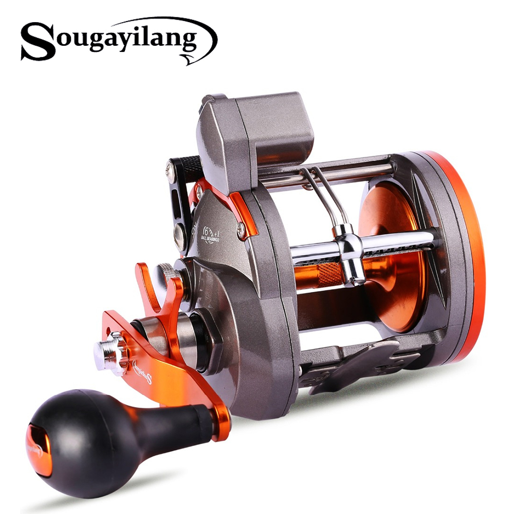 Sougayilang 6+1BB 30B 40B Strong Trolling Counter Fishing Reel Casting Sea Spinning Wheels Baitcasting Reel Coil Fishing TackleSougayilang 6+1BB 30B 40B Strong Trolling Counter Fishing Reel Casting Sea Spinning Wheels Baitcasting Reel Coil Fishing Tackle