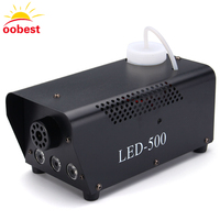 LED 500W Moke Machine RGB Change Color Led Fog Machine Professional Led Stage Light Smoke Ejector
