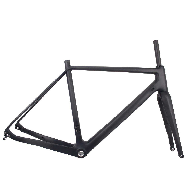 Seraph Bicycles Thru Axle 142mm Carbon 42c Tire Flat Mount Gravel  Disc Brake Carbon Gravel Bike Frame GR029