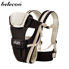 Belecoo 4 Colors Carrier Baby Wrap Sling Front Facing Baby Carrier Breathable Adjustable  Baby Backpack For 2-30 Months Baby
